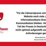Für die Zahnarztpraxis wird die klassische Website noch viele Jahre die Informationsbasis ihrer Patienten-Kommunikation bleiben. Hier ist der größte Teil der Praxen in Deutschland aber noch nicht optimal aufgestellt und für kommende Anforderungen gerüstet.