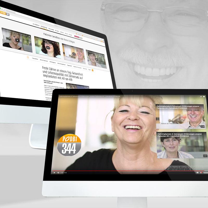 Feste Zähne an einem Tag aus der PODBI344 - Zahnarztpraxis Hannover