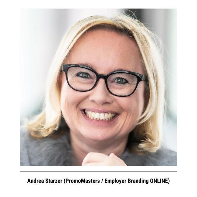 Andrea Starzer von PromoMasters Employer Branding ONLINE