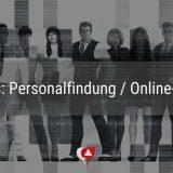 Reihe junger Leute im Praxismarketing-Blog zum Thema Personalfindung und Online-Recruiting