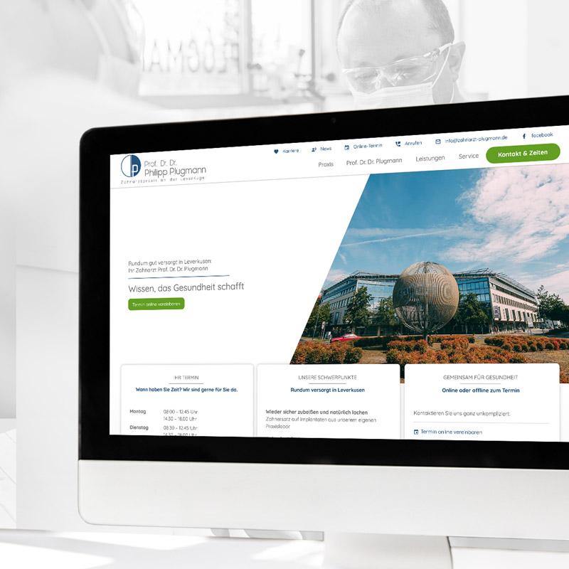 praxismarketing-website-parsmedia-zahnarzt-plugmann-leverkusen
